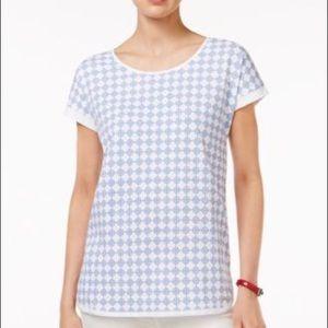 NEW TOMMY HILFIGER all cotton white t shirt Medium